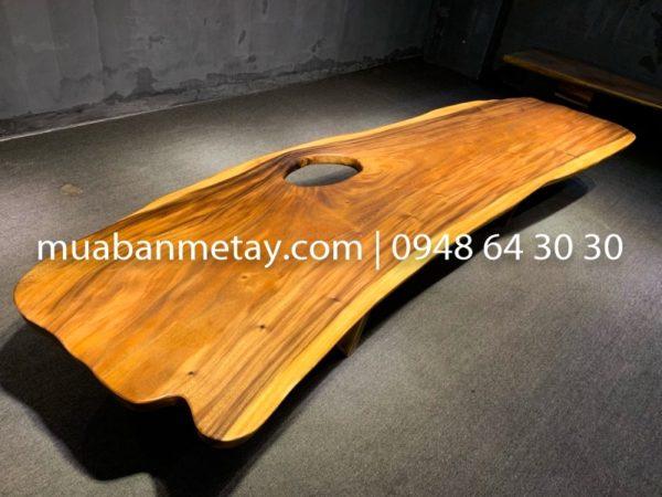 mặt bàn gỗ tự nhiên nguyên tấm